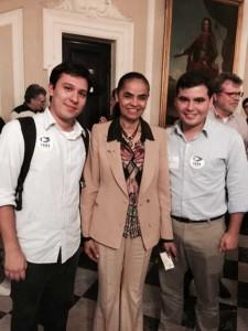 Marcos Pinho, Marina e Thiego Ladeira