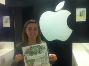 Tainah Duarte,a moça da maçã.