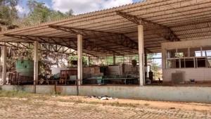 O antigo posto da Cooperleite