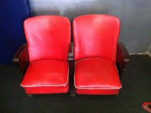 As antigas cadeiras