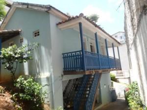 Casa onde RC nasceu e viveu até mudar-se para o Rio Fotos- variedadess.blogspot.com