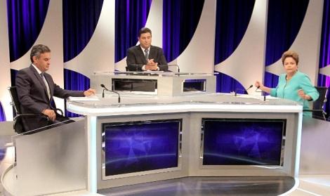 Debate SBT - Dilma x Aécio