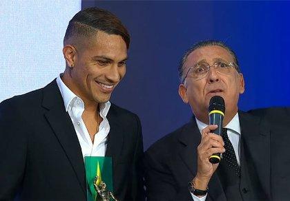 Galvão Bueno e Guerrero Corinthians