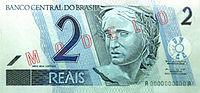 Nota de R$ 2,00 lançada em 2001
