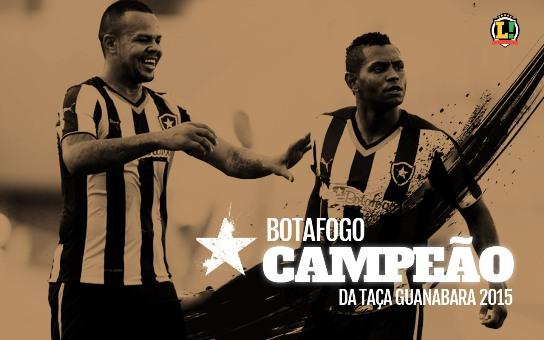 Botafogo Campeão Taça Guanabara 2015