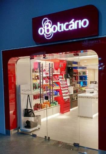O Boticário - novo conceito de loja