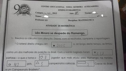 Prova Censa - Leo Moura