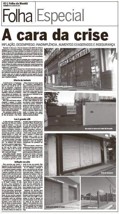 Folha Domingo - Crise 2