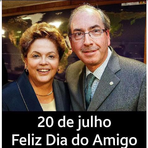 Dia do Amigo 2 - Dilma e Cunha