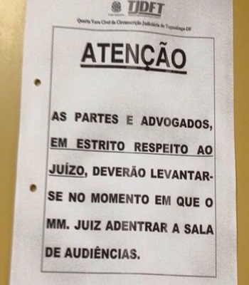 Juizite no DF