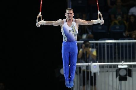 Arthur Zanetti conquista o ouro para o Brasil em Toronto -  Foto: Sergio Dutti/Exemplus/COB