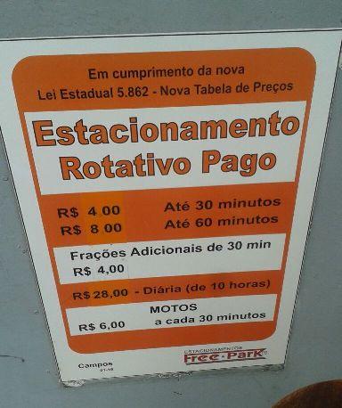 Pela hora da morte - Estacionamento HSBC