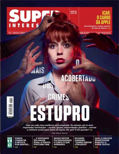 Super Interessante - Estupro 0 - Capa