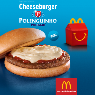 Cheeseburger Polenguinho