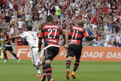 Flamengo 3x1 Fluminense - Brasileiro 2015 - 2o turno