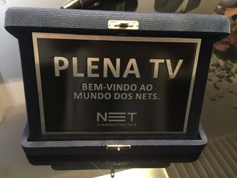 Plena TV assina com Net