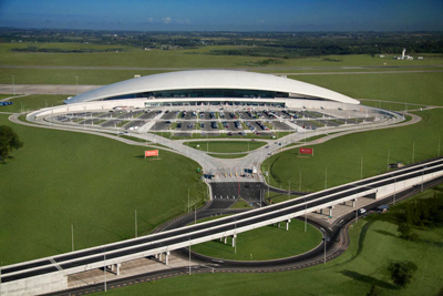 O belo Aeroporto de Carrasco foi eleito o segundo melhor do continente