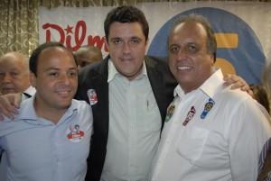 Marcão, Rodrigo Neves e Pezão