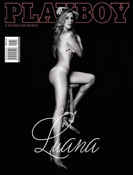 Luana Piovani nova Playboy