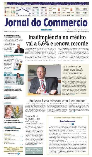 Jornal do Commercio - ultima edição