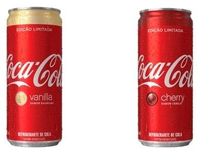 Coca-Cola Cherry e Vanilla