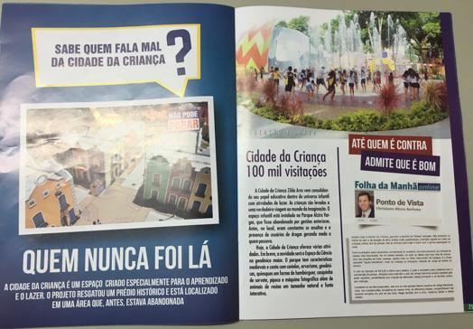 Revista Prefeitura - Eleições 2016 - Fiquei famoso - Cidade da Criança Página Aberta