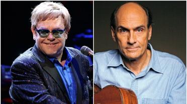 Elton John e James Taylor no Rio-3