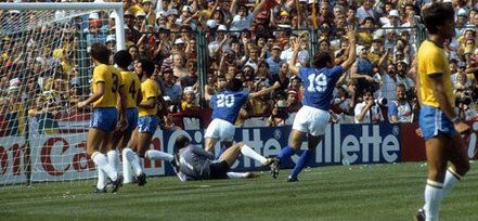 Paolo Rossi - Itália 3x2 Brasil 1982-3
