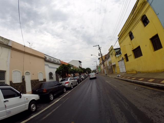 Rua da casa da Prefeita