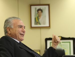 O atual presidente do Brasil, Michel Temer (foto: UOL)