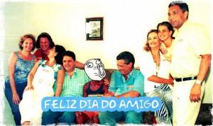 dia do amigo - grande família