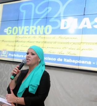 Prefeita de SFI apresentou ações dos 120 dias de governo