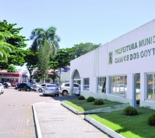 Sede da Prefeitura em Campos