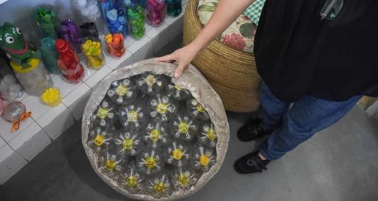 Reaproveitamento de materiais inservíveis