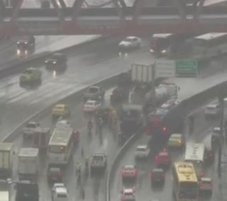 Chuva no Rio de Janeiro causa problemas
