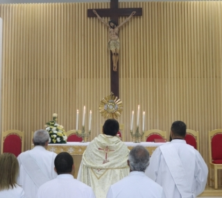Missas serão na Capela de São José