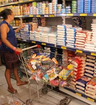 Supermercados estão fechados aos domingos