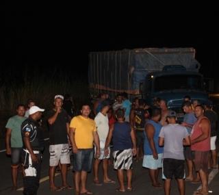 Protesto de caminhoneiros