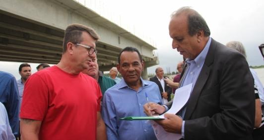 Pezão em visita a São João da Barra