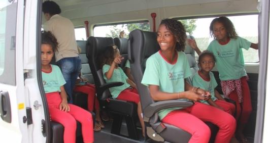 Projeto tem garantido o empoderamento de crianças