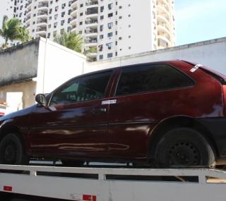 Veículo que teria sido usado no crime foi apreendido