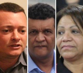 Thiago Virgílio, Kellinho e Linda Mara