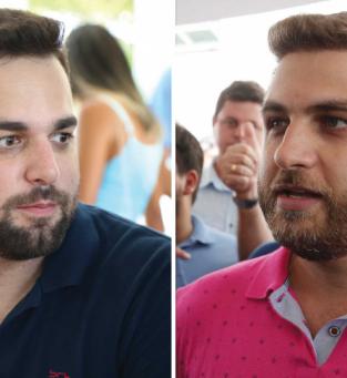 Pré-candidatos Caio Vianna e Wladimir Garotinho esquentam clima na planície goitacá no início de ano eleitoral
