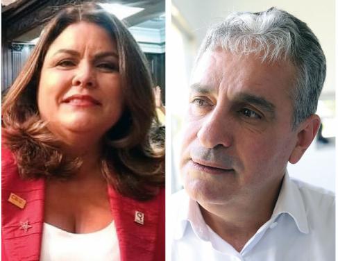 Odisséia Carvalho e André Ceciliano