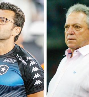 Alberto Valentim deve utilizar novamente Luis Henrique no ataque para tentar derrotar o Vasco do técnico Abel Braga