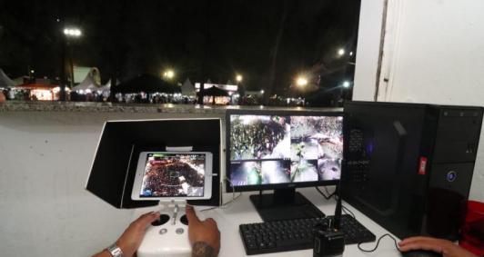Monitoramento com drones em SJB