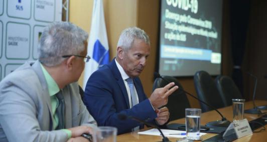 Secretário-executivo da pasta, João Gabbardo