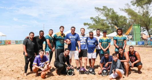 Equipe Alligators apresentou modalidade ao público no Farol de São Thomé