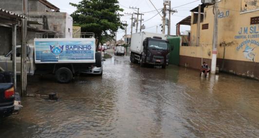 Situação deixou 30 residências em estado de alerta