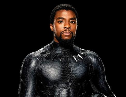 Chadwick Boseman estrelou Pantera Negra